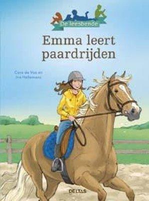 Emma leert paardrijden - De leesbende
